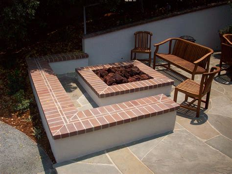 Backyard Brick Fire Pit Ideas Fireplace Design Ideas Firepit Bricks