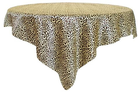 leopard print table overlays 84 best table cloths images on dots polka dot