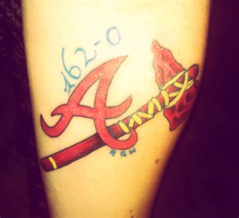 atlanta braves tattoos 20 best images about atlanta braves tattoos on