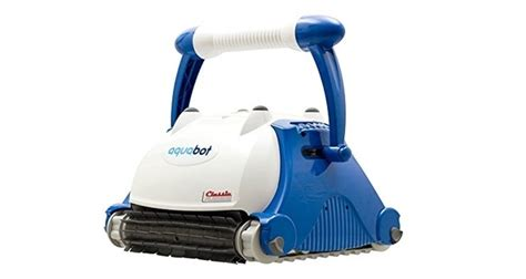 Aquabot And Aquajet Robot Pool Cleaners From Irobot by Aquabot Classic In Ground Robotic Swimming Pool Cleaner