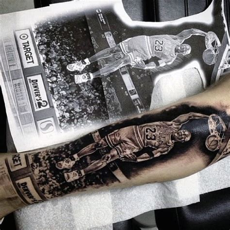basketball wrist tattoos 40 basketball tattoos for masculine design ideas