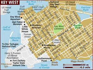 key west florida hotel map map of key west