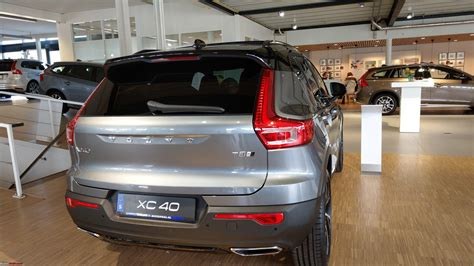 my volvo website volvo india lists the xc40 suv on its website team bhp