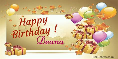 1st Year Happy Birthday Wishes Happy Birthday Deana Free Ecards