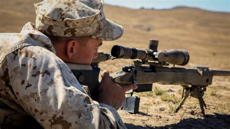 top infantry marines prepare to join elite sniper community