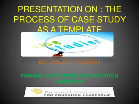 Mba Study Presentation Format by Presentation On Study As A Process Template