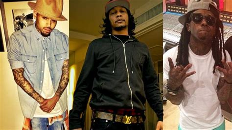 dj quik lil wayne amp chris brown s blood ties are quot laughable quot