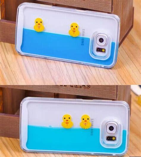 Swimming Duck Aquarium Liquid Tank For Iphone 6 3d duck tank liquid aquarium swimming