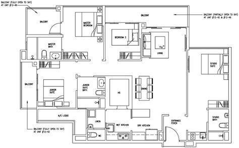 4 Bedroom Condo Singapore by Forestville Ec New Launch Floor Plan 4 Bedroom Dk D4