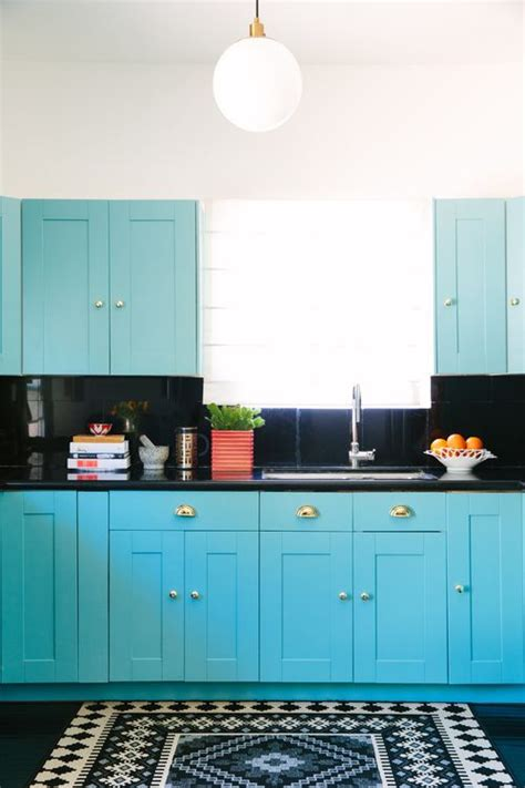 17 best ideas about turquoise kitchen cabinets on