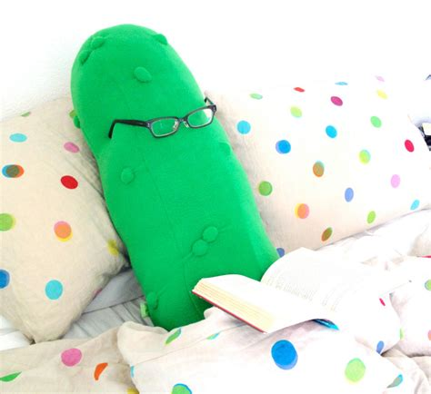 Pickle Pillow by The Pickle Pillow Will Dill Iver The Best S Sleep Foodiggity