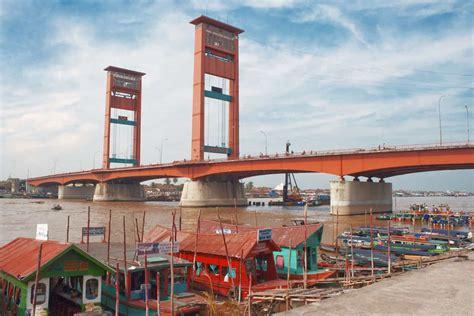 destinasi wisata wajib kunjung  palembang