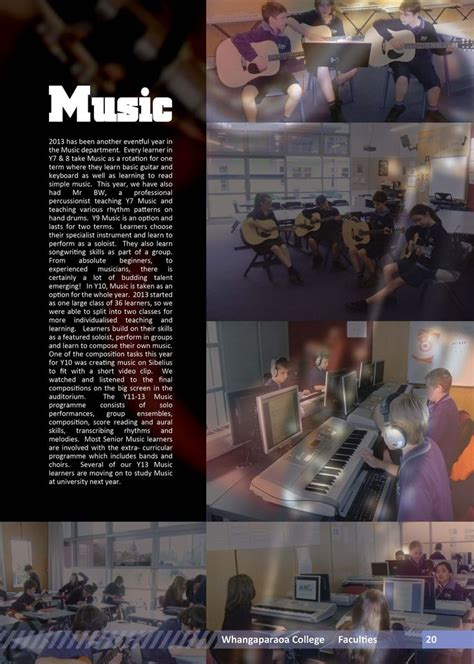 music theme yearbook 13 best band page insperation images on pinterest