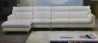 Off White Leather Sofas Armonia Italian Top Grain Off White Leather Modern