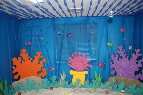 the sea classroom theme decoration commotion vbs 2016 on just b cause