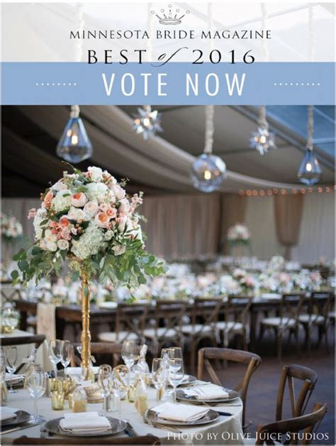 Best Wedding Planning Websites 2016 by Vote Minnesota Best Wedding Planner 2016