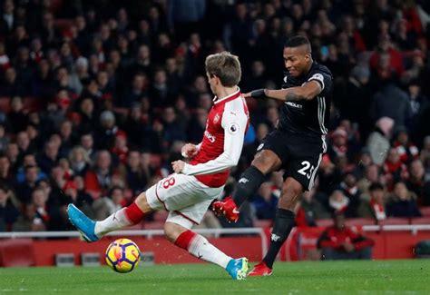 arsenal vs mu arsenal 1 3 manchester united jesse lingard nets double