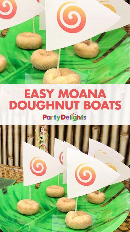 moana boat replica this is a super easy moana party food idea download our