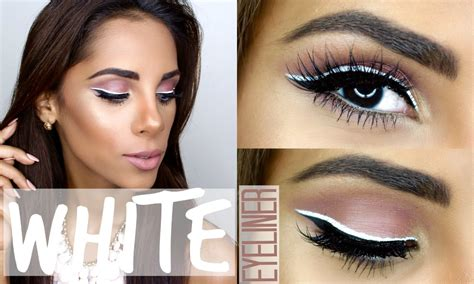 To Trendy White get ready with me white eyeliner summer trend