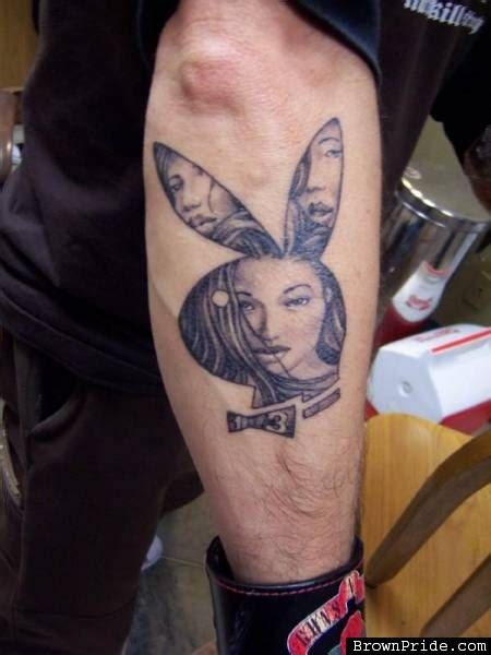 playboy bunny tattoos designs bunny on collection