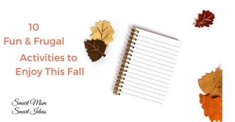 10 Free Activities To Enjoy by 10 Frugal And Activities You Will This Fall