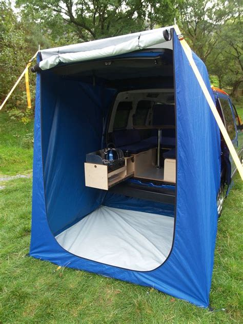 tent trailer awnings cer conversion cers and tent on pinterest
