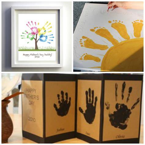 ideas para di de los padres cristianos ideas originales para el dia del padre manos pintadas