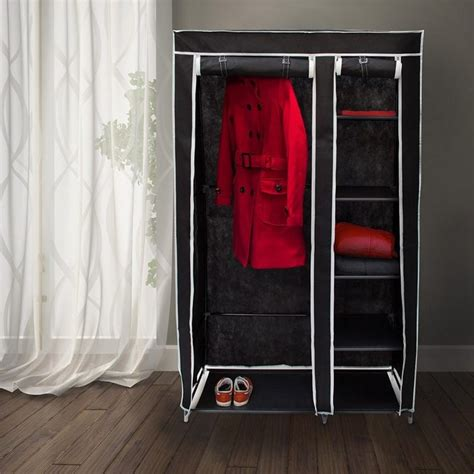 armadio stoffa armadio stoffa con zip dalani guardaroba in tessuto