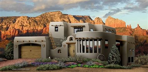 southwestern houses southwestern style home plans home design and style