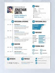 20 creative infographic resume templates web amp graphic