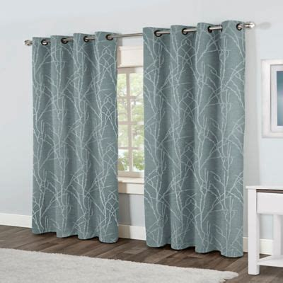 steel blue curtains buy blue steel curtains from bed bath beyond