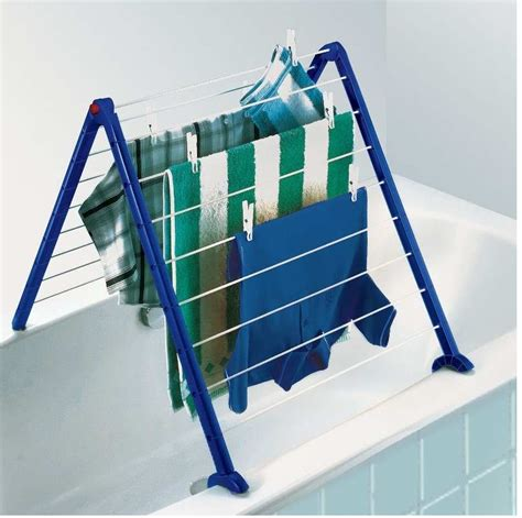 bathtub clothesline leifheit portable pegasus v indoor drying rack urban
