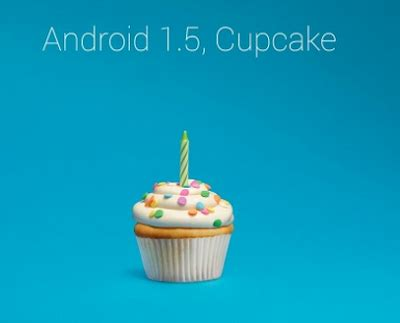 android cupcake 30 new features in android kitkat 4 4 and list of android