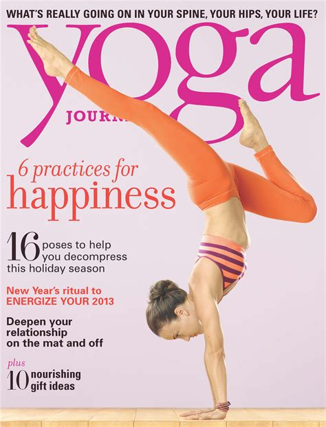 Pch Magazines Subscriptions - photo tiffany cruikshank on the cover of yoga journal