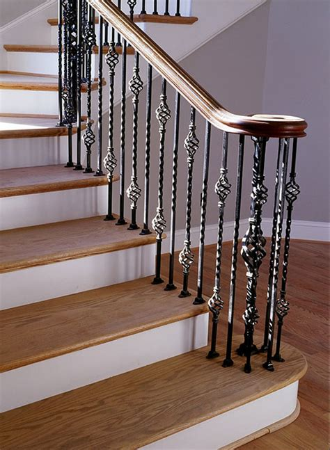 Interior Stair Banisters by Interior Railings Stair Railings Heirloom Stair Iron