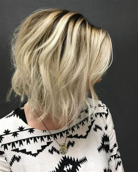 textured lob caramel ombre cena jordan hair 43 picture perfect textured bob hairstyles style skinner