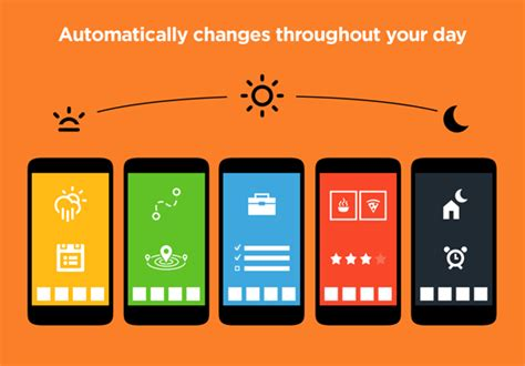 aviate an always changing intelligent home screen for