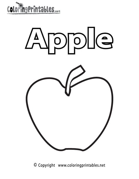 printable apple coloring page free coloring pages of bitten apple