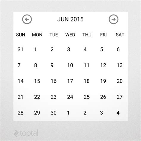design calendar in java android customization how to create custom android ui