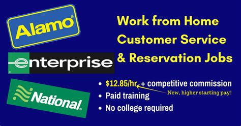 12 85 hr working at home for alamo enterprise and