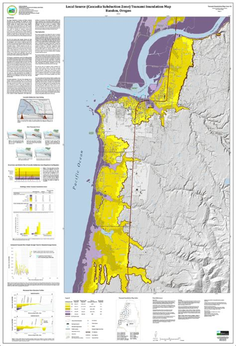 oregon tsunami evacuation maps dogami tim coos 16 tsunami inundation maps for bandon