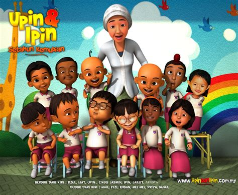 film upin ipin anak harimau upin ipin video