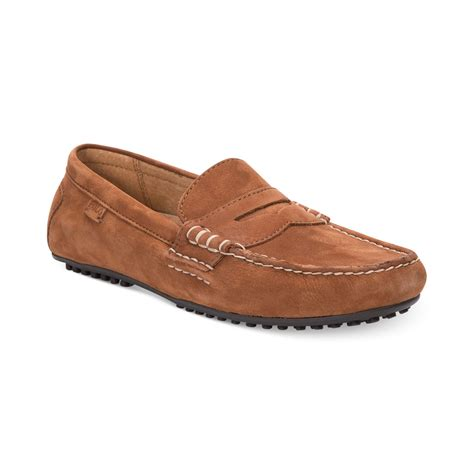 polo loafers polo ralph wes loafers in brown for polo