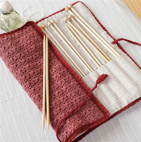 pattern crochet needle case a guide to buying the perfect knitting needle case