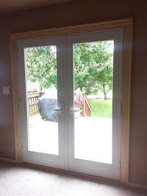 Andersen 400 Series Frenchwood Hinged Patio Door Andersen Patio Doors
