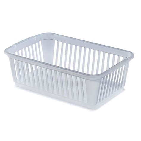 plastic bathroom storage plastic bathroom bath side storage basket clear large