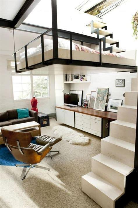 cool bedroom mezzanine design