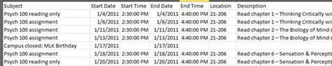 csv format google calendar google calendar create one for your class technology
