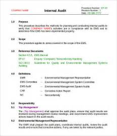 it audit template 14 audit report templates free sle exle