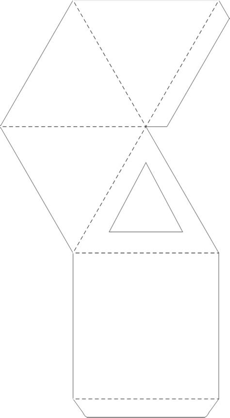 Gift Pyramid Template